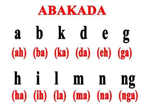 abakada alphabet
