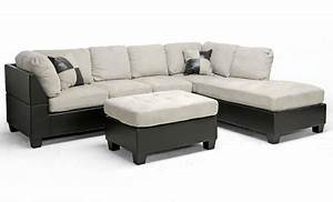 sectional sofa and ottoman set groupon goods With sectional sofa groupon