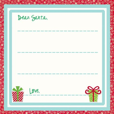 Free Santa Letter Template by Touching Hearts Letters To Santa Claus Templates Free