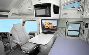 Future Semi Trucks Interior