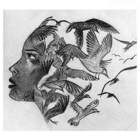 disegni a matita di ragazze tristi disegni facili da copiare a matita img