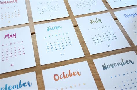 make a desk calendar with pictures desk calendar laura lefurgey smith ux design portfolio