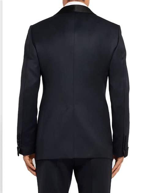 James Bond No Time To Die Black Tuxedo Suit - Just ...