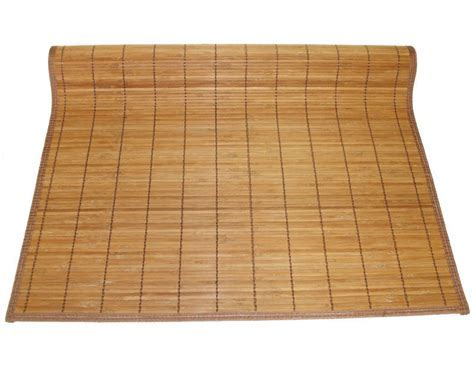 "4'x8' 48""x96"" Brown Bamboo Floor Mat Area Rug Tatami"