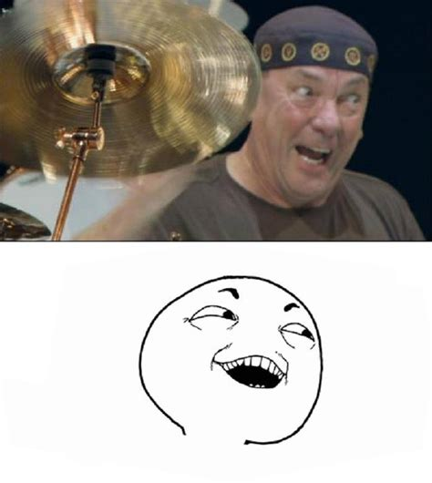 Neil Peart Meme - the origin of quot i see what you did there quot meme