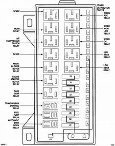 2004 Dodge Ram 2500 Fuse Panel Diagram