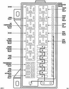 1999 Dodge Van Fuse Diagram
