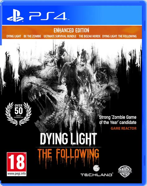 dying light 2 ps4 dying light the following enhanced edition toda la
