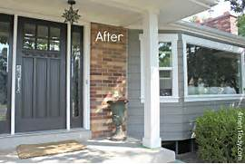 Front Door Paint Colors For Brick Homes by House Exterior
