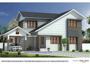 Beautiful Modern Indian Home Design by Shahid ...