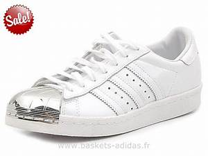 ADIDAS Superstar 80S Metal Toe Argent Adidas Chaussure