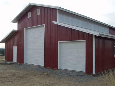 Steel Pole Barn Kits by 40 X 60 Pole Barn Home Designs 30x40 Pole Barns Kits Hd