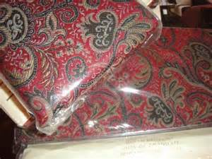 ralph discontinued bleecker paisley duvet cover set new ebay