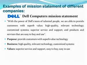 Mission Statement Exles by Vision And Mission Of Companies