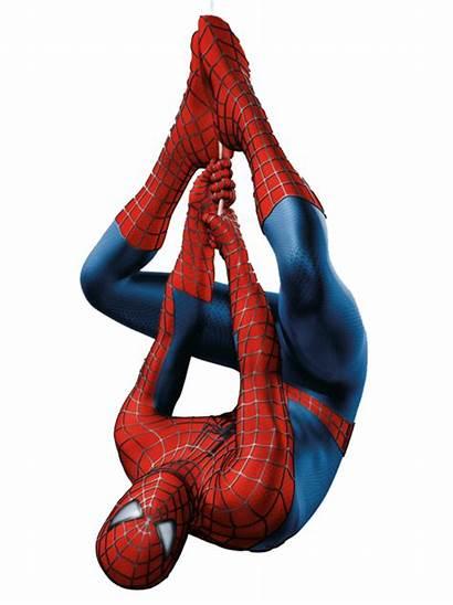 Spiderman Spider Hanging Transparent Upside Down Clipart