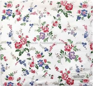 Tischdecke 350 X 150 : greengate tischdecke isobel white 150 x 150 cm ~ Watch28wear.com Haus und Dekorationen
