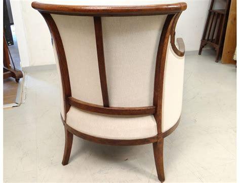 chaises merisier superbe duchesse en bateau chaise longue merisier