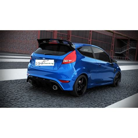 ford mk7 tuning paraurti posteriore ford mk7 focus rs look