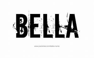 Arabic Word For Design Bella Name Designs