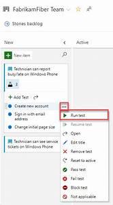 Add  Run  Update Inline Tests