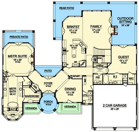 high end house plans high end mediterranean house plan 36433tx architectural designs house plans