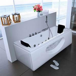 Whirlpool Badewanne Kaufen : whirlpoolwanne white m b t h in cm 180 90 55 mit ~ Watch28wear.com Haus und Dekorationen
