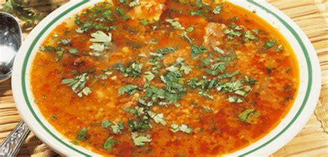 cuisine tunisienne traditionnelle recette chorba frik soupe algérienne recette ramadan