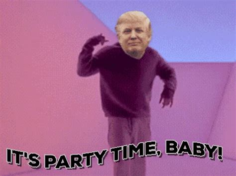 Dancing Meme - donald trump dancing gif find share on giphy