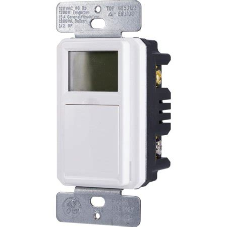 sunsmart in wall digital timer daily weekly settings backlit lcd push button door 32787