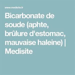 Bicarbonate De Soude Transpiration : bicarbonate de soude aphte br lure d 39 estomac mauvaise haleine medisite health ~ Melissatoandfro.com Idées de Décoration