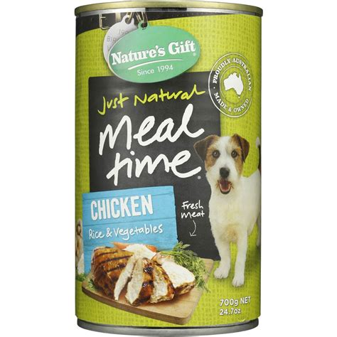 natures gift adult dog food chicken rice vegetable