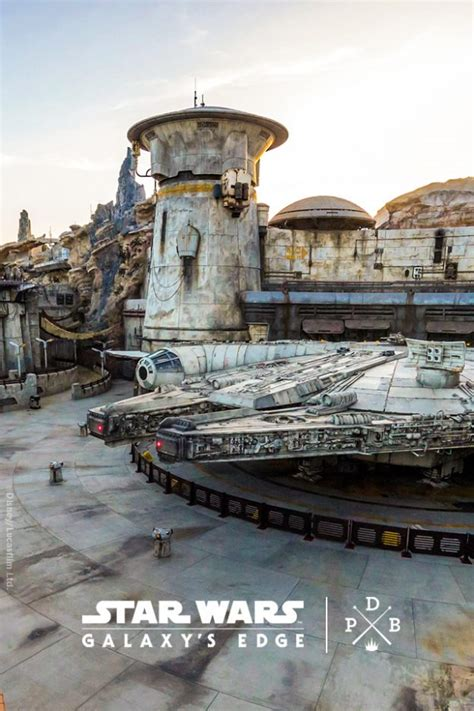 star wars galaxys edge disneyland resort wallpaper