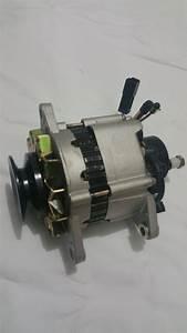 Alternator With Pump For Nissan Navara 4wd Engine Td27 2 7l Diesel 1988-1992