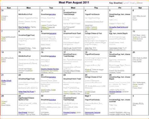 monthly meal planner template 6 monthly meal planner template bookletemplate org