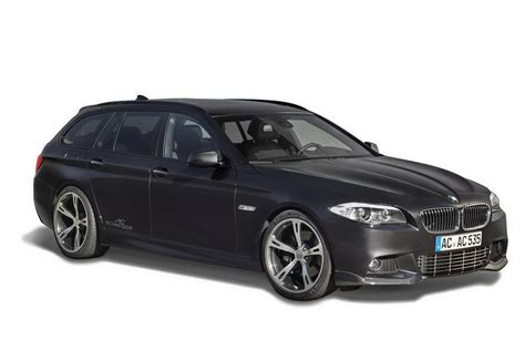 Bmw 5 Series Touring Modification by Bmw 5 Series Touring Gets Ac Schnitzer Modification Kit