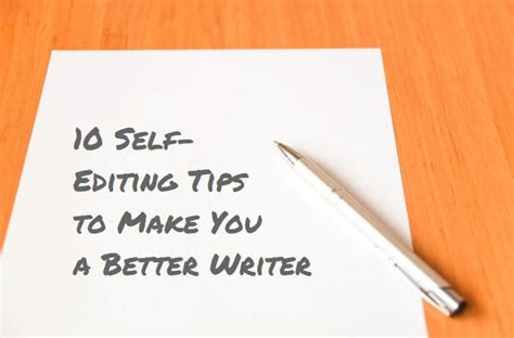 10 Selfediting Tips That Will Make You A Better Writer Wordstream