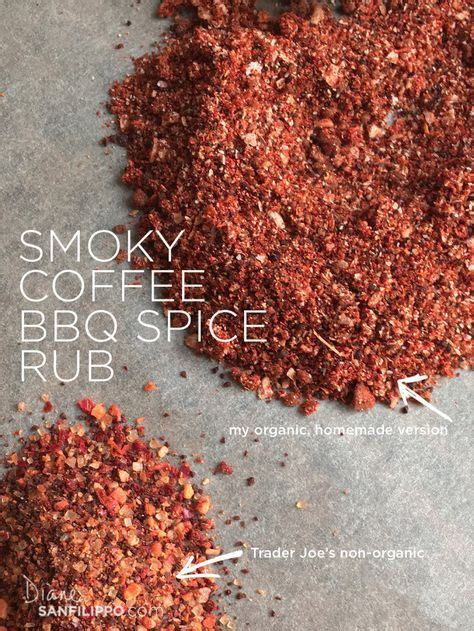 I'm definitely into this fish, but we all know that buying the raw stuff is semi expensive and not always that easy to prep in a pinch. Smoky Coffee BBQ Spice Rub (Trader Joe's copycat) | Diane Sanfilippo | Bbq spice, Homemade ...