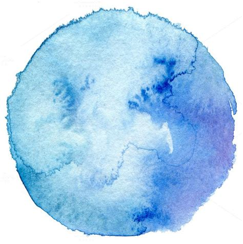 Circle watercolor ~ Abstract Photos on Creative Market
