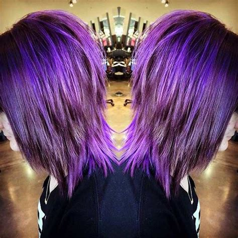 21 Looks That Will Make You Crazy For Purple Hair Hair