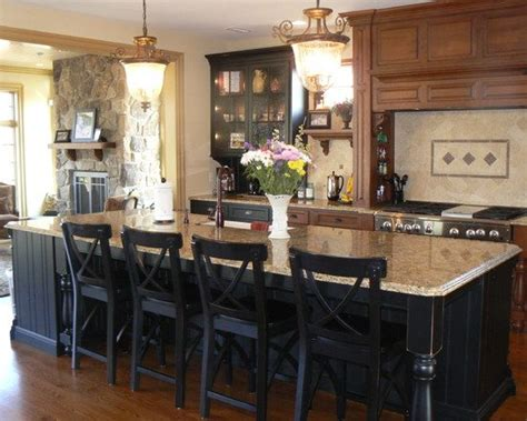 black kitchen island with chairs quicua