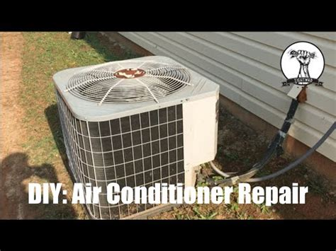 ac fan not blowing diy air conditioner fan not spinning blowing warm air