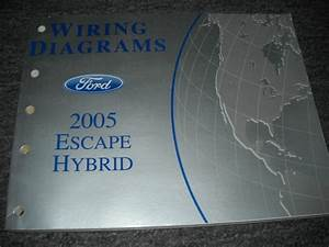 2005 Ford Escape Mercury Mariner Hybrid Models Electrical