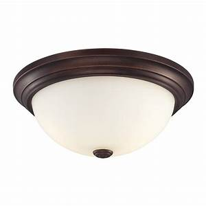 Millennium lighting in w rubbed bronze ceiling