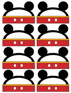 Free Printable Mickey Mouse Food Labels