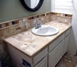 bathroom tile countertop ideas travertine bathroom countertops bathroom design ideas