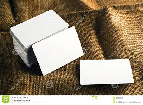 business cards  rounded corners stock image image