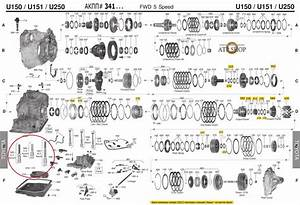 U151e Check Ball Diagram 2006 Toyota Sienna