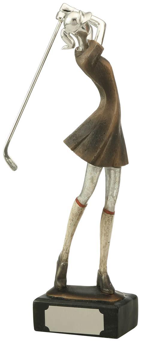 golf statues home large resin golfer award trophytrophy trolley