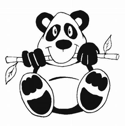 Panda Coloring Pages Pandas Cartoon Printable Bear