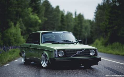 Volvo Wallpapers car volvo road trees stance volvo 240 wallpapers hd